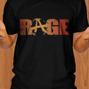 Rage T-Shirt Game Black