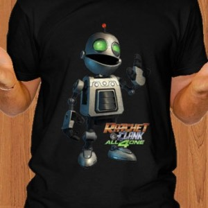 Ratchet and Clank T-Shirt Black
