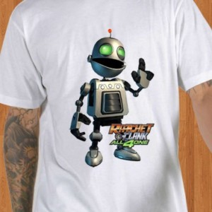 Ratchet and Clank T-Shirt White