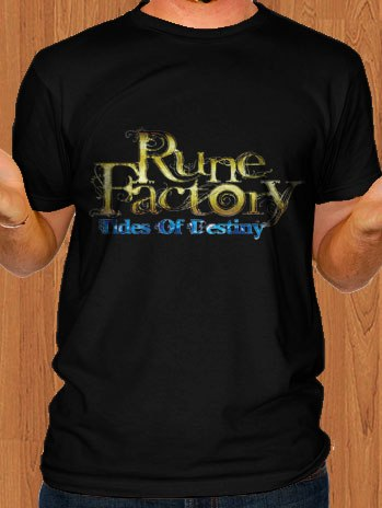 Rune Factory T-Shirt Tides of Destiny Black