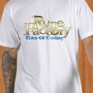 Rune Factory T-Shirt Tides of Destiny White
