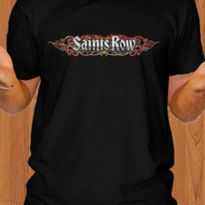 Saints Row T-Shirt Black