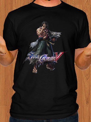 Soul Calibur V T-Shirt Mitsurugi Black