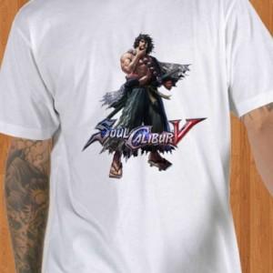 Soul Calibur V T-Shirt Mitsurugi White