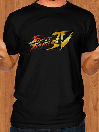 Super Street Fighter T-Shirt Black