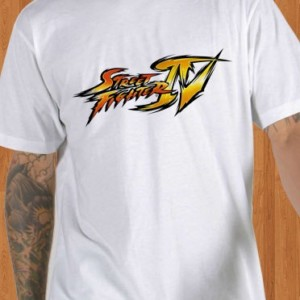 Super Street Fighter T-Shirt White