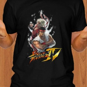 Super Street Fighter IV T-Shirt Black
