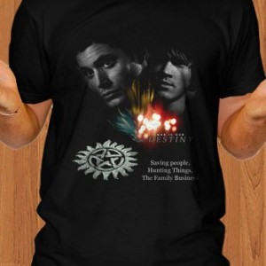 Supernatural T-Shirt TV Show