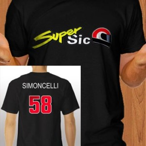 Marco Simoncelli T-Shirt Supersic