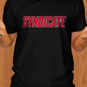 Syndicate T-Shirt Game Black