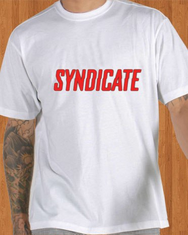 Syndicate T-Shirt Game White