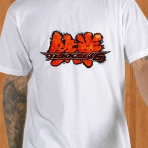 Tekken T-Shirt White