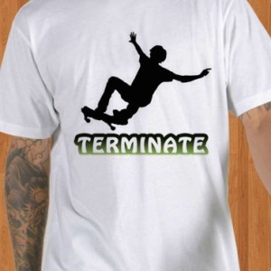 Termite Original Girl Longboard Skateboards T-Shirt