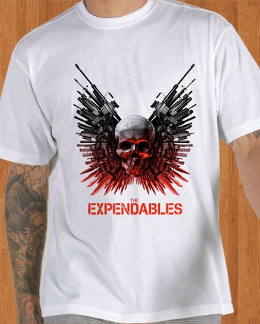 The Expendables T-Shirt White