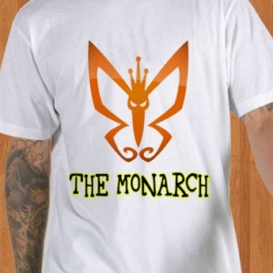 The Monarch T-Shirt Butterfly Venture Brothers Men