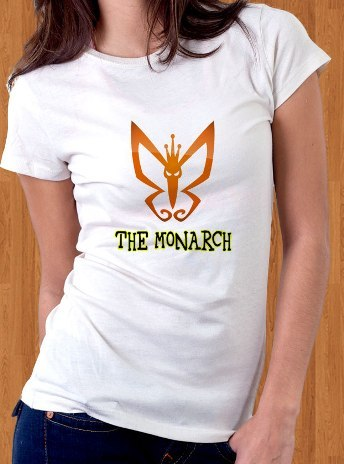 The Monarch T-Shirt Butterfly Venture Brothers Women