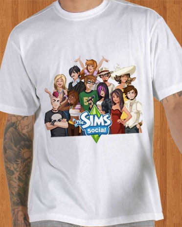 The Sims Social T-Shirt 01 Men