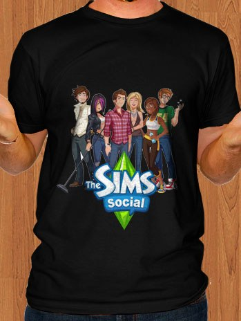 The Sims Social T-Shirt 03 Men