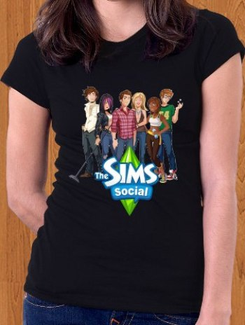 The Sims Social T-Shirt 03 Women