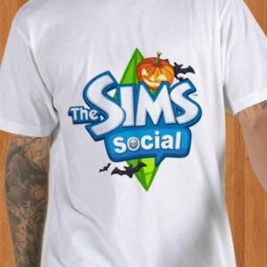 The Sims Social T-Shirt Halloween Men