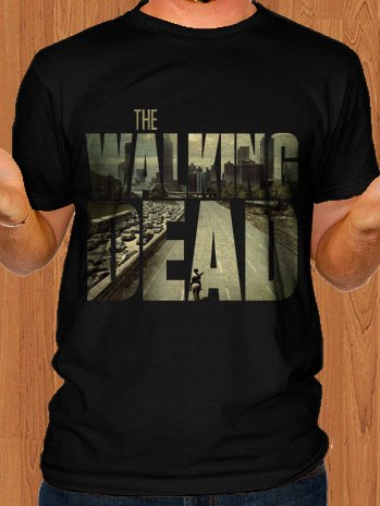The Walking Dead T-Shirt Black
