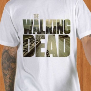 The Walking Dead T-Shirt White
