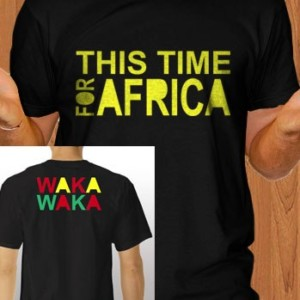 This Time For Africa T-Shirt Waka Waka