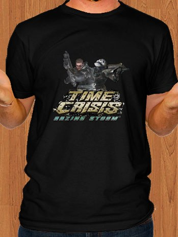 Time Crisis T-Shirt Razing Storm Black