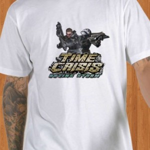 Time Crisis T-Shirt Razing Storm White