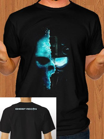 T-Shirt Ghost Recon Tom Clancys
