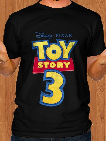 Toy Story T-Shirt Black