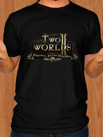 Two Worlds 2 Game Black T-Shirt