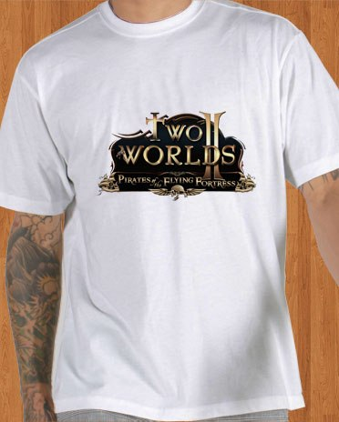 Two Worlds 2 Game White T-Shirt