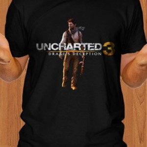 Uncharted 3 Drakes Deception Game T-Shirt