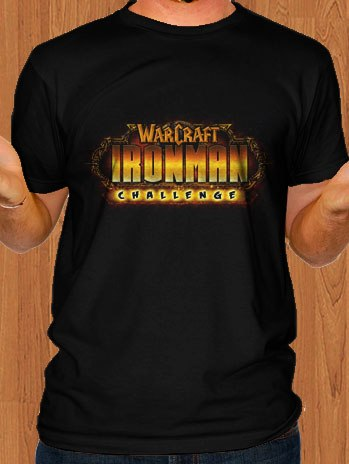 Warcraft T-Shirt Ironman Challenge
