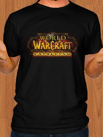 World Of Warcraft T-Shirt Cataclysm