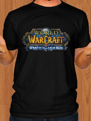 World Of Warcraft T-Shirt Wrath Of The Lich King