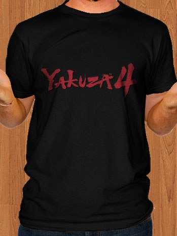 Yakuza 4 T-Shirt Black