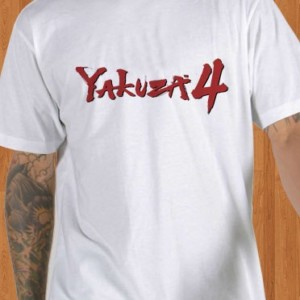 Yakuza 4 T-Shirt White