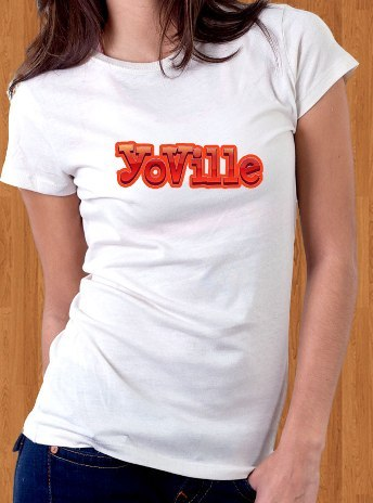 YoVille T-Shirt Game Women