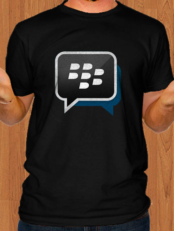 BBM Blackberry Messenger T-Shirt