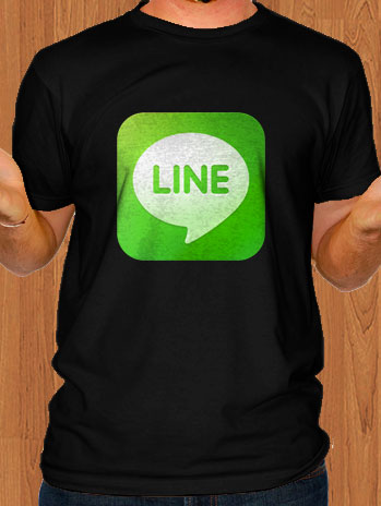 Line Messenger T-Shirt