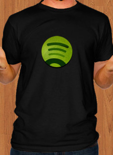 spotify-app-black-men-t-shirt