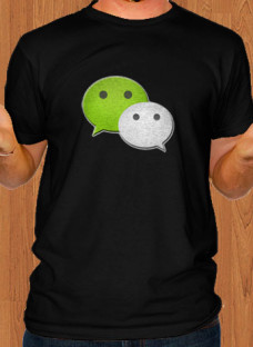 wechat-app-black-men-t-shirt