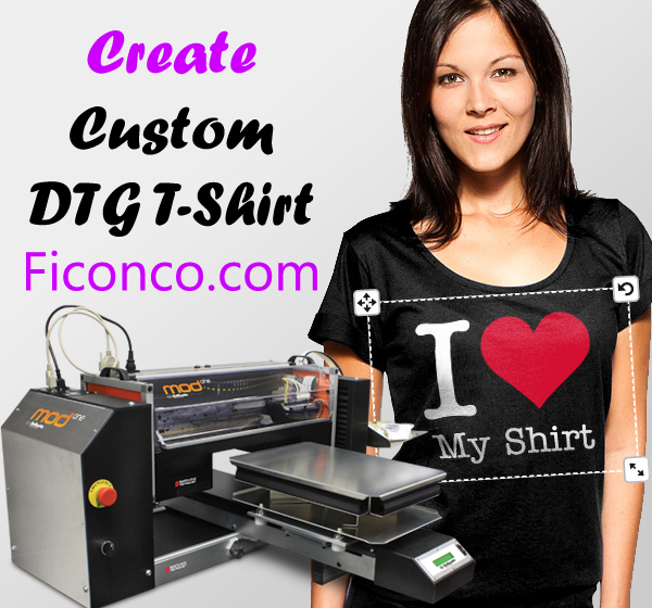Custom DTG T-Shirt