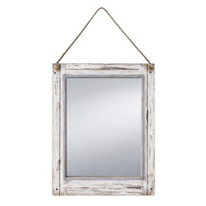 Farmhouse Rustic Mirror.  Best Farmhouse Decoration Under $50 at Amazon