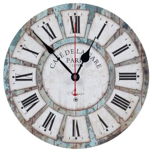 Farmhouse Rustic Wall Clocks.  Best Farmhouse Decoration Under $50 at Amazon