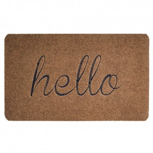 Hello Welcome Door Mat.  Best Farmhouse Decoration Under $50 at Amazon