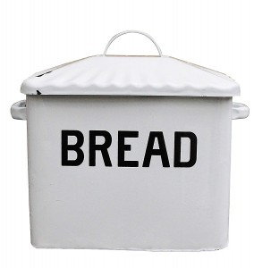 Metal Bread Box.  Best Farmhouse Decoration Under $50 at Amazon