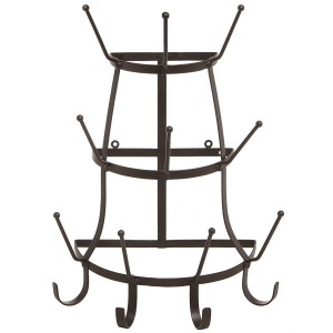 Metal Wall Mug Rack.  Best Farmhouse Decoration Under $50 at Amazon